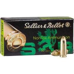 S&B 9mm Para 124gr NonTox -...