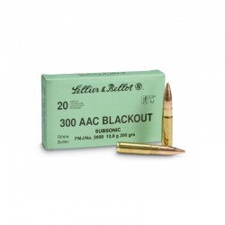 S&B .300 Blackout SUBSONIC...