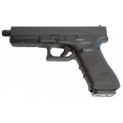 Glock 19 Gen4 mit Gewindelauf