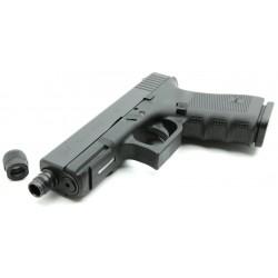 Glock 17 Gen4 mit Gewindelauf